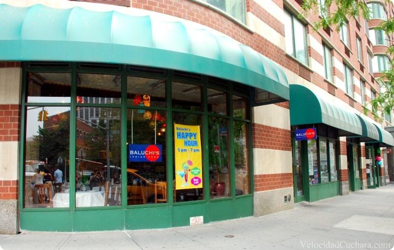 Nueva York: Baluchi's indian food