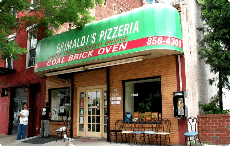 Nueva York: Pizzería Grimaldi's