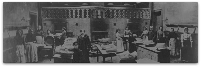 Imagen del horno del Pao de lo de Margaride en 1900
