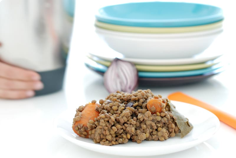 Lentejas cocidas: para ensaladas, hummus