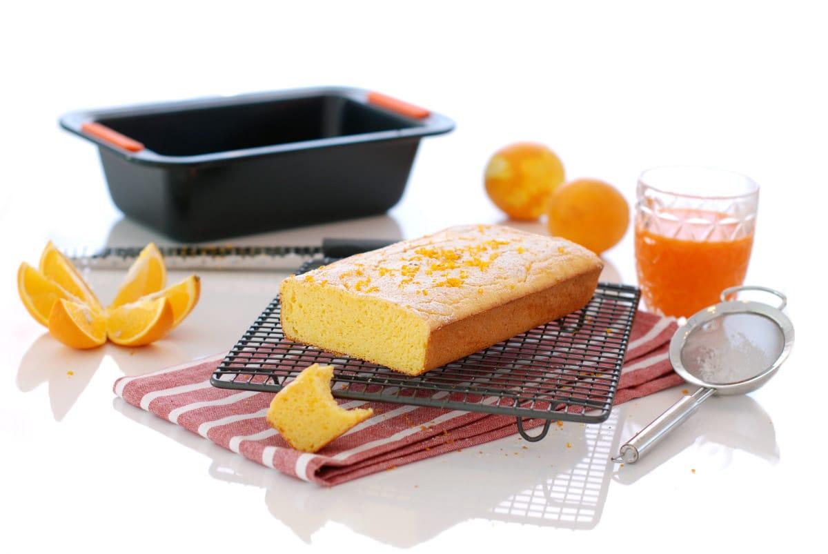 Bizcocho de naranja sin gluten